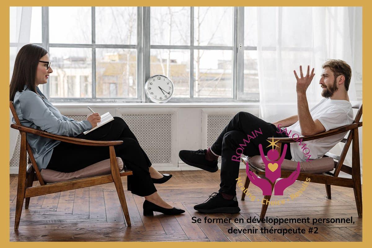 Quelles formations pour devenir thérapeute ou expert en développement personnel ?